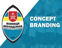 Vinnytsia Youth - Concept branding