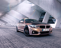 BMW M4 Outside