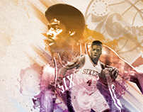 Philadelphia 76ers Player Posters