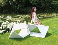 Pendìo _ Modular bench
