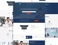 Begeeb Home page Redesign