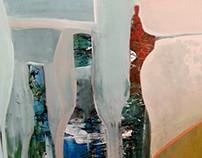 Acrylic  canvas 50 x 70