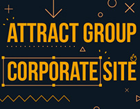 Редизайн сайта Attract Group