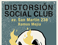 flyers distorsion social club
