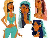 moroccan girl character research