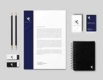 ERP Novation Logo and business card design