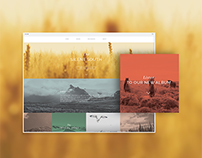 The Silent South Music Template