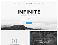 Infinite - Responsive Multi-Purpose WordPress Theme
