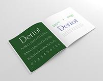 Deriot | Typeface Design