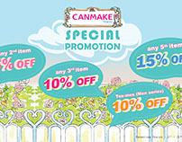Canmake Promotion Designs