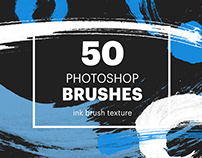 50 Photoshop brushes: brush lines & circles