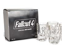 Fallout 4 S.P.E.C.I.A.L. Shot Glasses