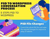 5 STEPS PSD TO WORDPRESS CONVERSATION PROCESS