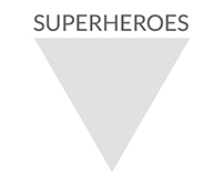 superheroes / logo design