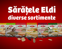 Teaser Eldi - Saratele packaging design & animation