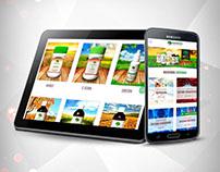 Gold Green - Web Adaptable a Móviles