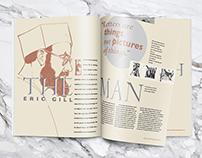 Eric Gill Magazine Spreads