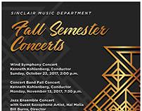 Fall Semester Concerts