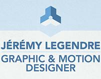 Resume/CV Motion Design