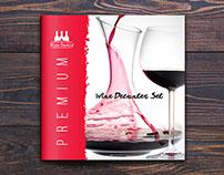 Booklet Design - Wine Decanter Booklet