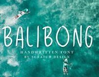 Free Font: Balibong