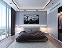 CONTEMPORARY BEDROOM - INTERIOR DESIGN -