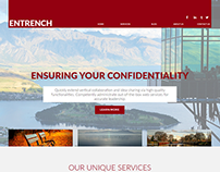 Entrench Corporate Website Concept