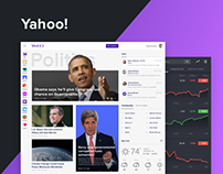 Yahoo! Redesign Concept