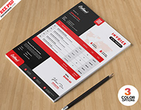 Professional Invoice Template PSD