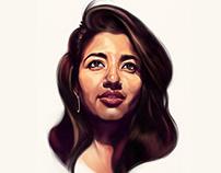 Pooja2 Portrait
