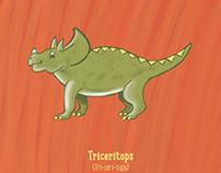 Dinosaur Illustration Series