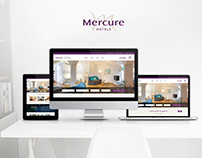Mercure Hotel Munich / Webdesign