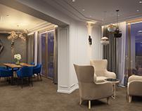 Hotel room in Kyiv