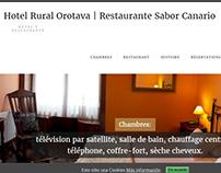 Hotel Rural Orotava: traducción castellano - francés