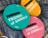 Friends of Animals Brand Identity