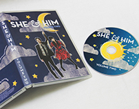She & Him DVD Design