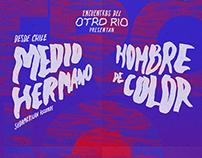 """Poster. """"Encuentros del Otro Río"""""""