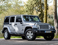 Jeep Wrangler Unlimited Sahara - Morgan Cars Portugal