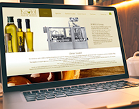 Website design for Koutof olive Oil Producing Equipment