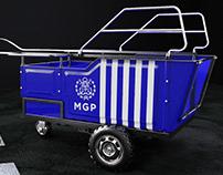 Vehículo Auxiliar para Recuperación de Residuos Urbanos