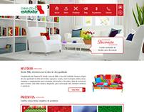 Web Site Casa do Estofador
