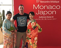 Monaco Japan Rencontre Artistique Art Exhibition