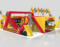 DHL F1 Booth