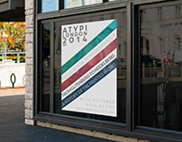 ATYPI LONDON 2014 - Typography Conference Poster Design