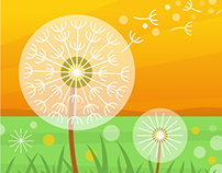 VIF Dandelion Illustration