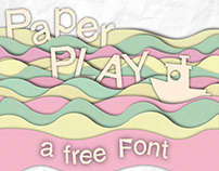 PaperPlay - a free font