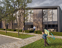 Exterior visuals for a project in Oxford