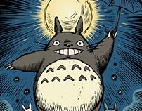 Ghibli Engraving Series