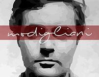 Modigliani poster design