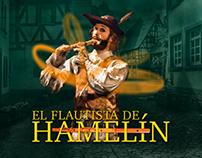 Diseño Key Visual - El Flautista de Hamelín - Teatro